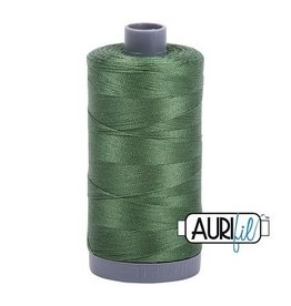 Aurifil 28 wt. Quilting Thread-2890 Very Dark Grass Green
