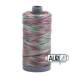 Aurifil 28 wt. Quilting Thread Variegated-3817 Marrakesh