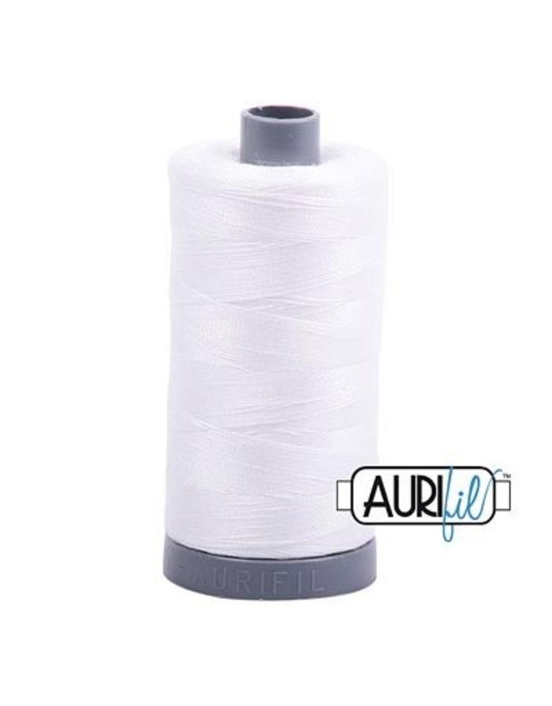 Aurifil 28 wt. Quilting Thread-2021 Natural White