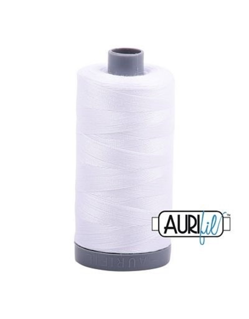 Aurifil 28 wt. Quilting Thread-2024 White