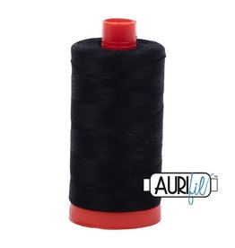 Aurifil 50 wt. Piecing Thread-2692 Black