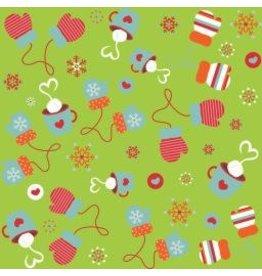 Colorful Christmas F7081-Green