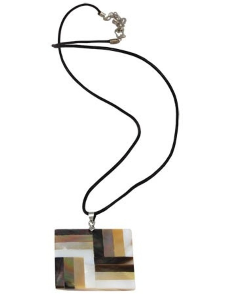 Rail Fence Necklace
