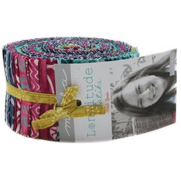 Longitude Batiks Jelly Roll