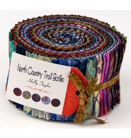 North Country Trail Batiks Jelly Roll