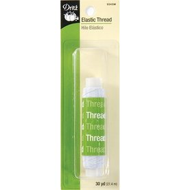 Elastic Thread - White