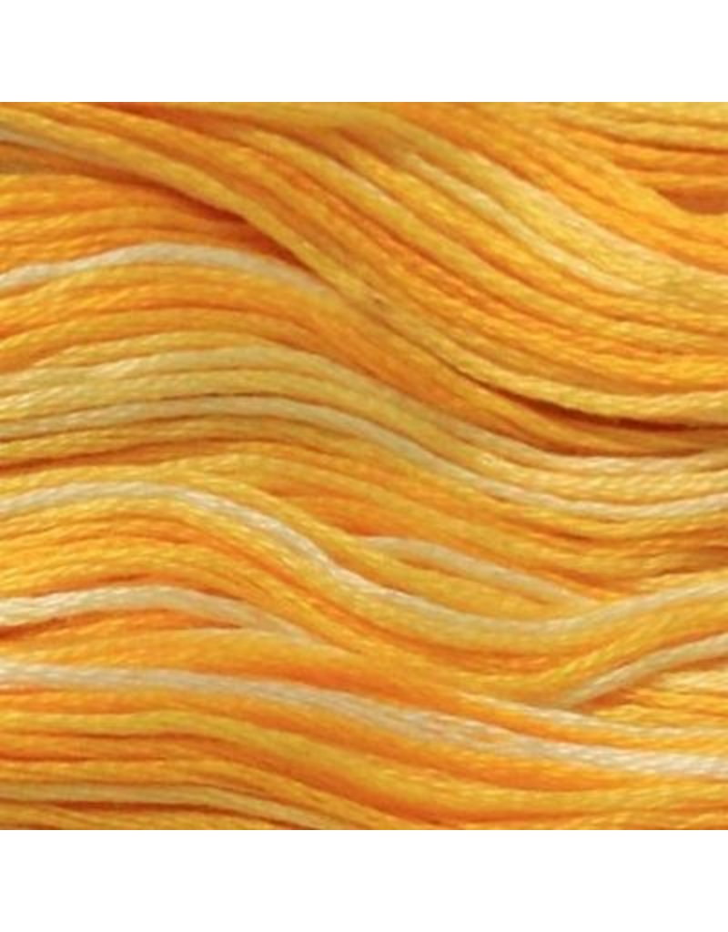 Presencia Embroidery Floss Variegated 9060 Glorious Gold Going Batty