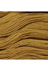 Presencia Embroidery Floss-7235 Dark Yellow Beige