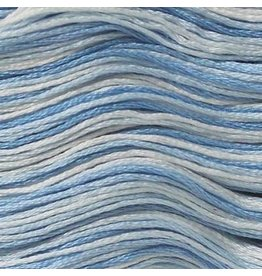 Presencia Embroidery Floss Variegated-9630 Delft Blue