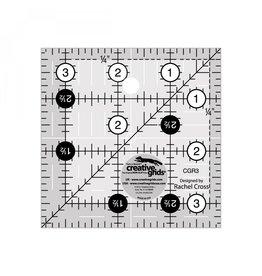 """Creative Grids Ruler 3.5"""" x 3.5"""""""