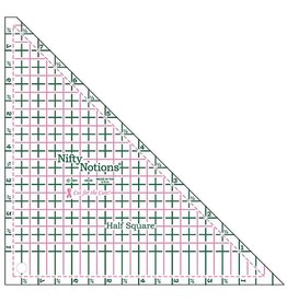 Nifty Notions Half Square Ruler