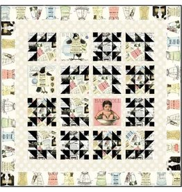 Quilting B Quilt Kit-Includes fabric for quilt pattern, top and binding.