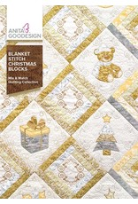 Blanket Stitch Christmas Block Design Pack