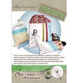 Chic Travel Accessories Design Pack