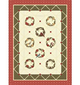 Nature's Christmas Quilt Kit