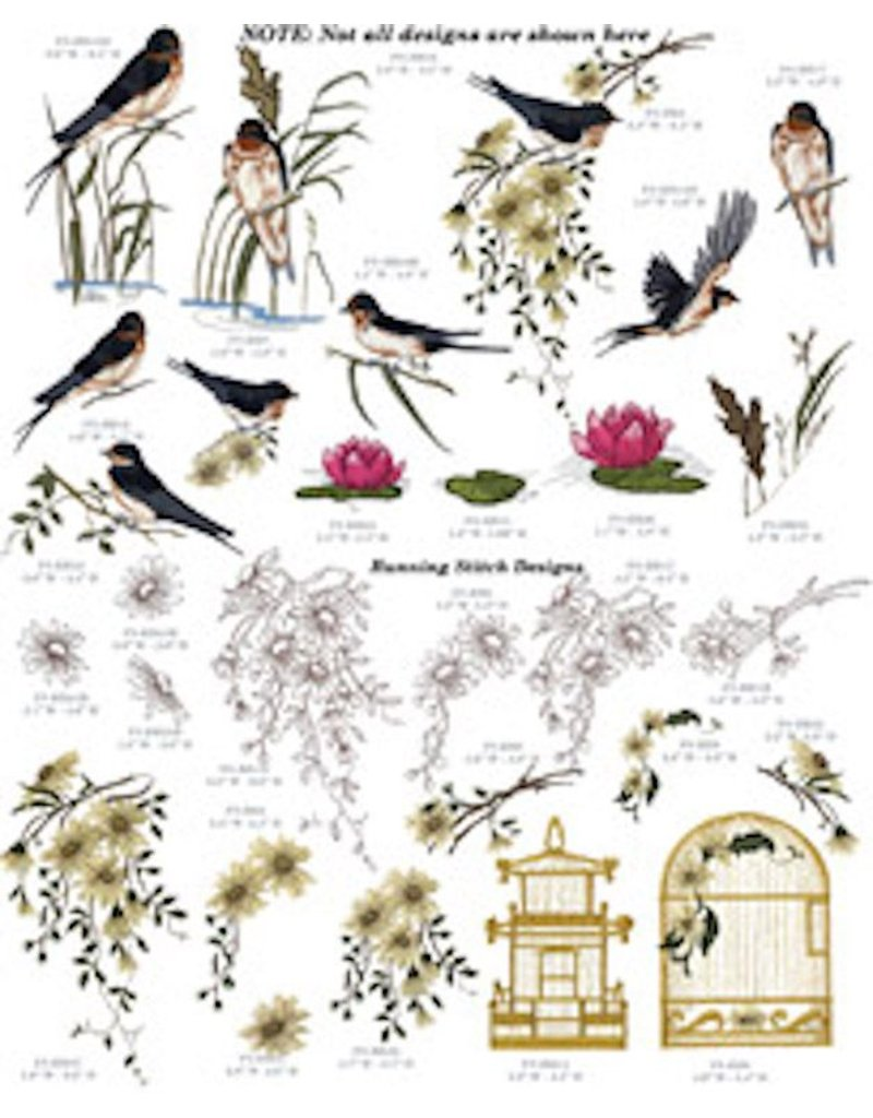 Swallows Design Pack