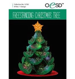 OESD Freestanding Christmas Tree