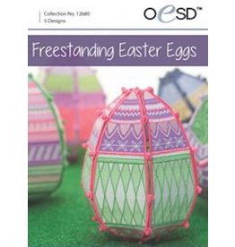 OESD Freestanding Easter Eggs CD
