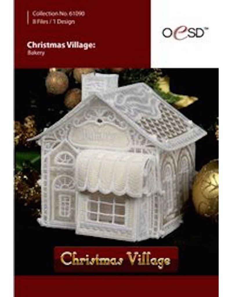 OESD Christmas Village-Bakery - going batty!