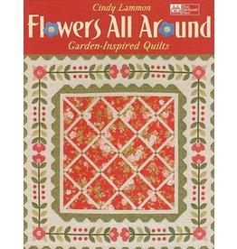 Flowers All Around Book - Cindy Lammon