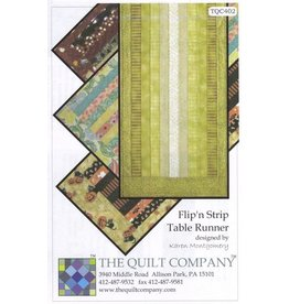 Flip N Strip Table Runner Pattern