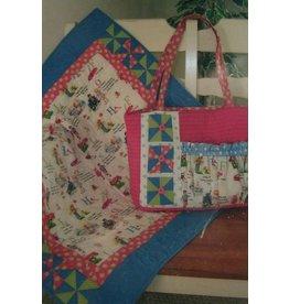 Pinwheel Fun for Baby Bag & Quilt - Pattern