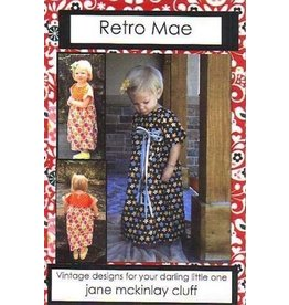 Plain Jane Pattern by Retro Mae