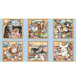 Quilting Purr Fection Panel 1645-427