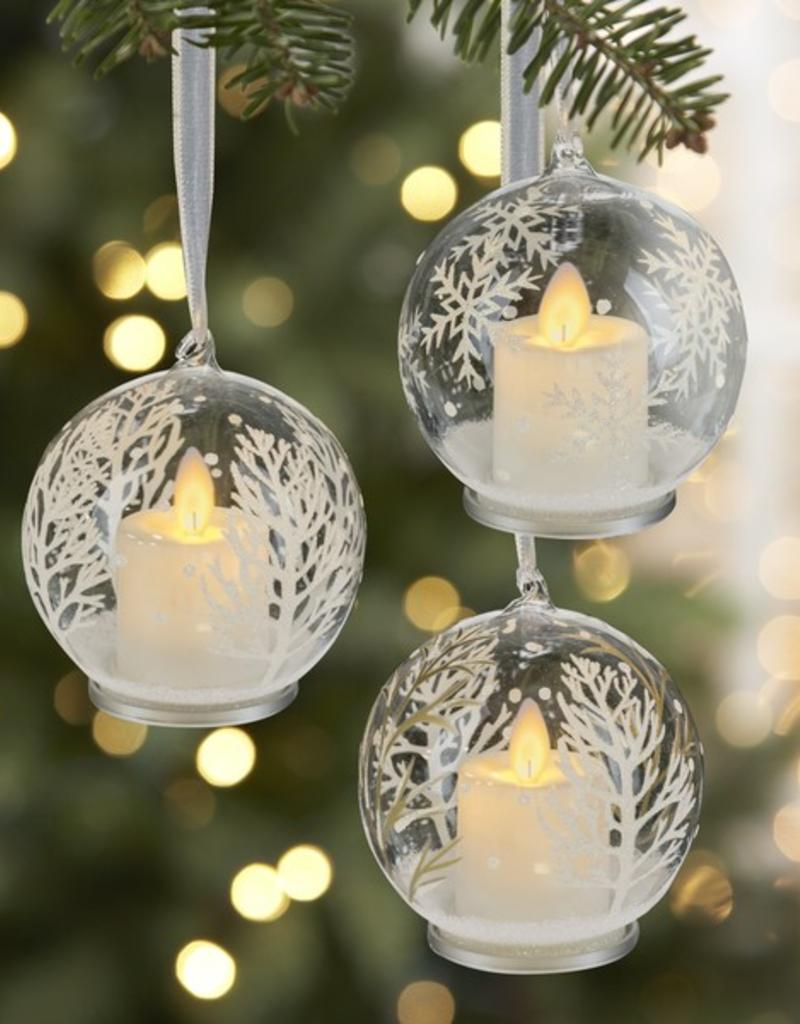 4 winter tree led ornament - Christmas Decorations Led Ornaments