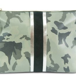 Graphite Camo Medium Clutch