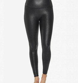 faux leather pebble legging