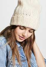 Harlow cable knit beanie