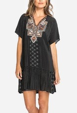Zoe silk dress