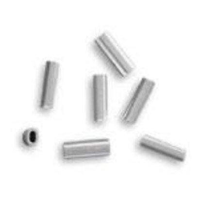 1.7 alloy oval crimp 250-300lb mono 50pk