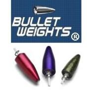 American Bullet weight 1/2oz 3pk screw-in black