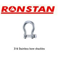 Ronstan Stainless steel shackle 400kg 2pk