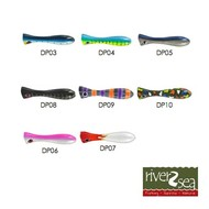 River2sea Dumbell popper 200 DP06 pink silver