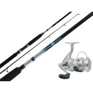 Daiwa fishing Daiwa General Purpose D-Wave 4000B Reel and D-Wave 7' rod with line set