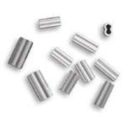 2.3 alloy double crimp 400-500lb mono 50pk