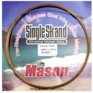 Mason lines Mason 140lb single strand stainless steel wire