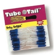 Betts Mini Tube Tail blue pearl 20pk