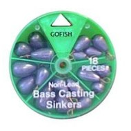 Swivel Sinkers Dial pack  ( Non lead )