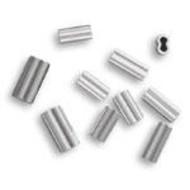 2.0 alloy double crimp 300-400lb mono 50pk