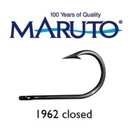 Maruto Hooks Maruto 12/0 game hook closed forged tinned 10pk