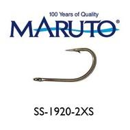 Maruto Hooks Maruto 5/0 2X O'shaugnessy hook stainless 10pk