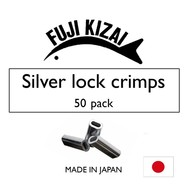 Fuji Kizai aluminium crimp 1.8mm E  300-350lb mono 50pk