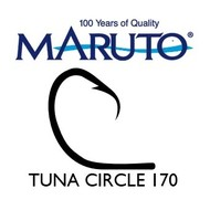 Maruto Hooks Maruto Tuna circle hook 13/0 Hi-carbon steel 10pk