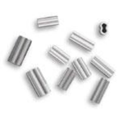 3.3 alloy double crimp 800-1000lb mono 50pk