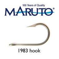 Maruto Hooks Maruto 6/0 game hook forged wide gape tinned 10pk