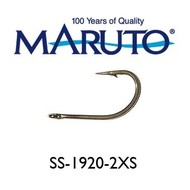 Maruto Hooks Maruto 6/0 2X O'shaugnessy hook stainless 10pk